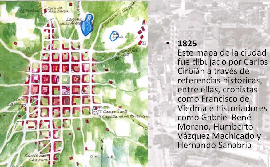 Santa cruz proceso, en Bolivia – Diseño urbano