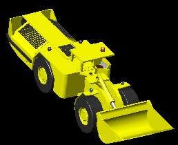 Planos de Scooptrans tanrock ejc 145 d –  modelo 3d, en Maquinaria – Obradores