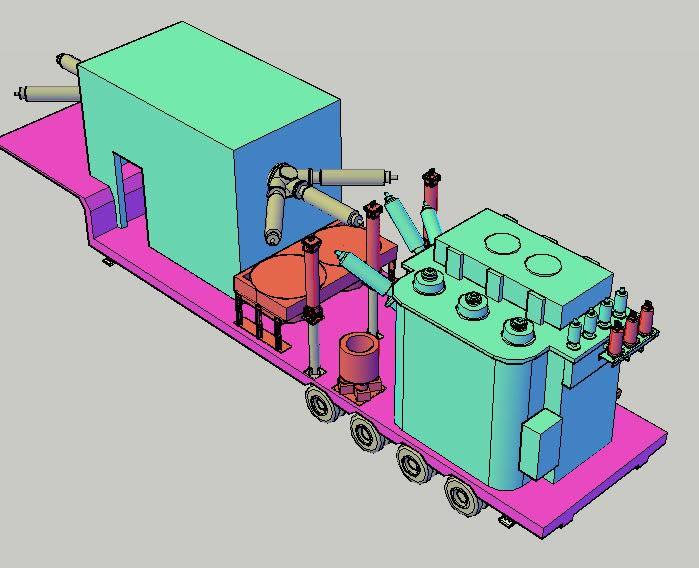 imagen S.e movil 3d, en Plantas industriales - Proyectos