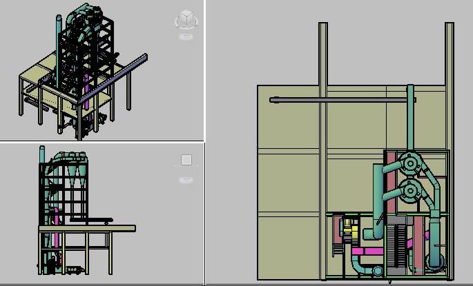 imagen Secadero flash para gluten meal, en Maquinaria para industria de la alimentación - Máquinas instalaciones