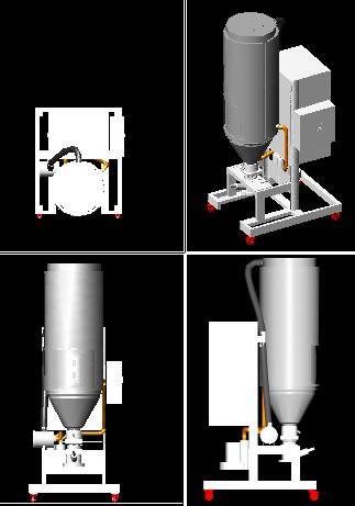 imagen Secador de pvc granulado, en Maquinaria e instalaciones industriales - Máquinas instalaciones