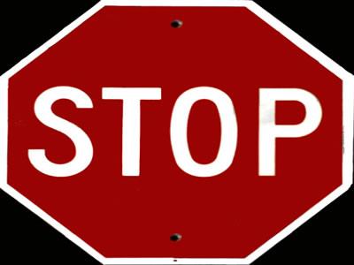 imagen Señal de transito - cartel de carretera, en Carreteras caminos y calles - Obras viales - diques
