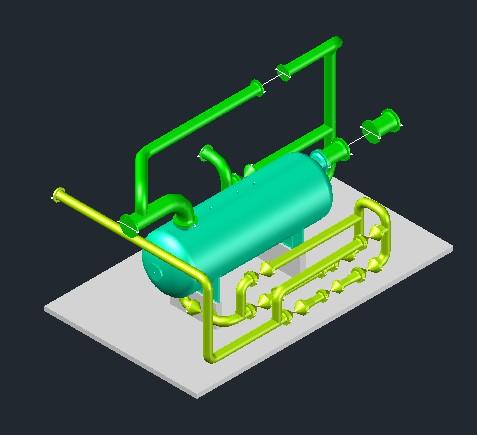 Planos de Separadores trifasicos, en Gas y combustibles – Infraestructura