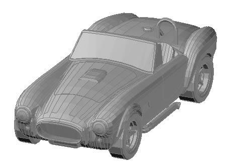Planos de Shelby, en Automóviles en 3d – Medios de transporte