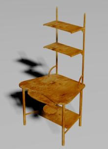 Silla 3d, en Muebles varios – Muebles equipamiento