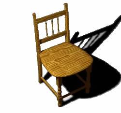 Silla 3d, en Sillas 3d – Muebles equipamiento