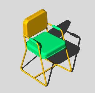 Planos de Silla 3d, en Sillas 3d – Muebles equipamiento