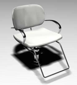 Silla 3d, en Sillones 3d – Muebles equipamiento