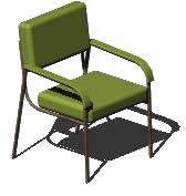Silla citton 3d, en Sillas 3d – Muebles equipamiento