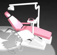 Planos de Silla de dentista, en Equipamiento – Hospitales