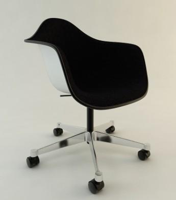 Silla de plástico, en Sillas 3d – Muebles equipamiento