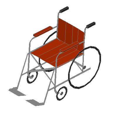 imagen Silla de ruedas, en Sillas - Discapacitados
