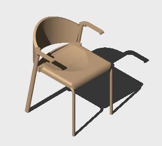 Planos de Silla de visita zone, en Sillas 3d – Muebles equipamiento