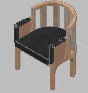 Planos de Silla, en Sillas 3d – Muebles equipamiento