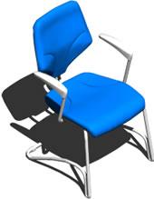 Planos de Silla giroflex 3d, en Sillas 3d – Muebles equipamiento