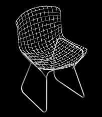 Silla metalica 3d, en Sillas 3d – Muebles equipamiento