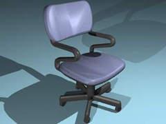 imagen Silla oficina, en Sillas 3d - Muebles equipamiento