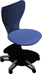 Planos de Silla para oficinas en 3d, en Sillas 3d – Muebles equipamiento