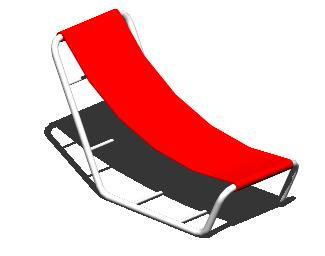 imagen Silla playera 3d, en Sillas 3d - Muebles equipamiento
