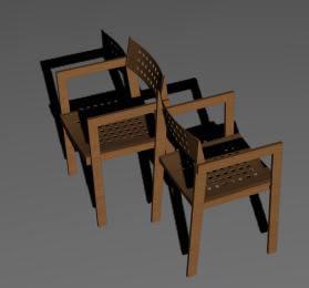 Sillas 3d, en Sillas 3d – Muebles equipamiento