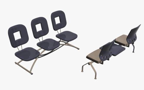 imagen Sillas 3d, en Sillas 3d - Muebles equipamiento