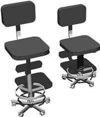 imagen Sillas hidraulicas de oficina, en Oficinas y laboratorios - Muebles equipamiento