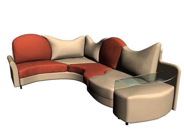 Sillon 3d, en Salas de estar y tv – Muebles equipamiento