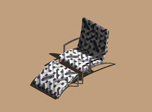 Planos de Sillon cor_pando 3d, en Sillones 3d – Muebles equipamiento