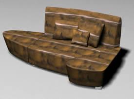 Sillon curvo 3d, en Sillones 3d – Muebles equipamiento