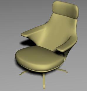 Sillon de oficina, en Sillas 3d – Muebles equipamiento