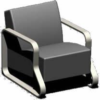 Planos de Sillon del arquitecto alvar alto, en Sillones 3d – Muebles equipamiento