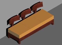 Planos de Sillón, en Sillones 3d – Muebles equipamiento