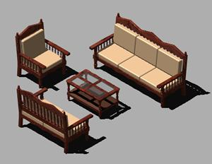 Planos de Sillon, en Sillones 3d – Muebles equipamiento