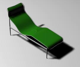 Sillon lounge en 3d, en Sillones 3d – Muebles equipamiento
