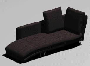 Sillon triple  3d, en Sillones 3d – Muebles equipamiento