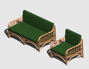 Planos de Sillones 3d, en Sillones 3d – Muebles equipamiento