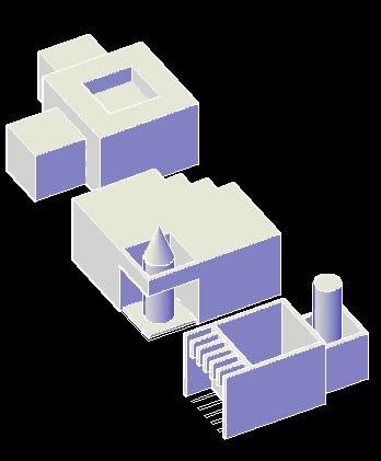 imagen Simple 3d, en Perspectivas - Dibujando con autocad