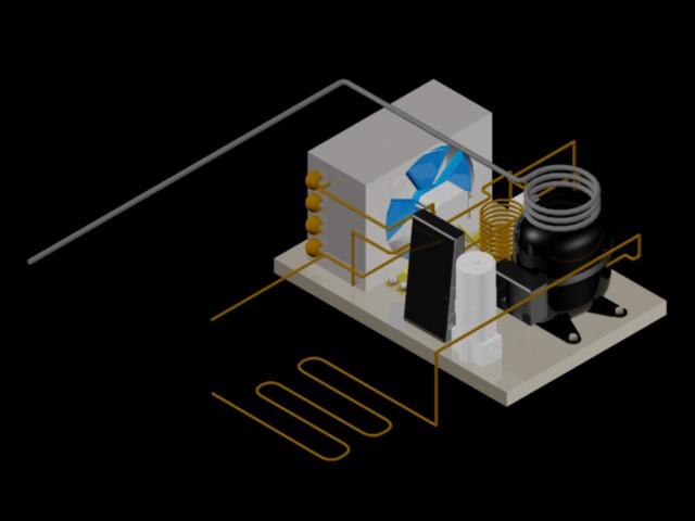 imagen Sistema de compresión 3d, en Maquinaria - Obradores