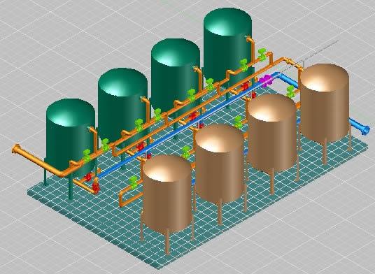 Planos de Sistema de filtracion de agua, en Plantas depuradoras – Infraestructura