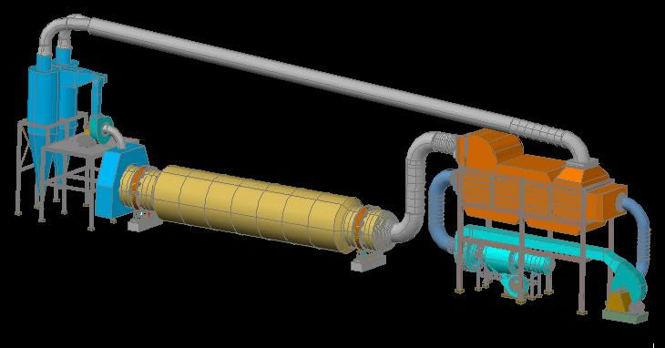 imagen Sistema de secado con aire caliente, en Maquinaria e instalaciones industriales - Máquinas instalaciones