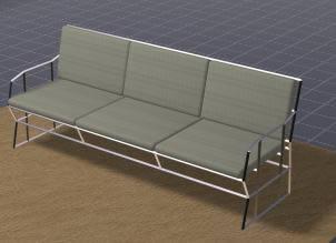 Sofa 3d, en Butacas – Muebles equipamiento