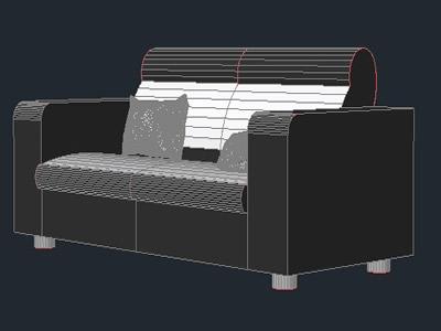 Planos de Sofa 3d, en Sillones 3d – Muebles equipamiento