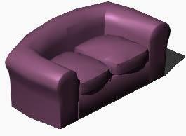 Planos de Sofa 3d venturi, en Sillones 3d – Muebles equipamiento