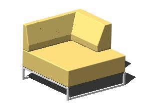 Planos de Sofa moderno, en Salas de estar y tv – Muebles equipamiento