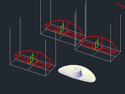 imagen Sombrero, en Arcos circunferencias y ovalos - Dibujando con autocad