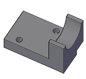 Planos de Soporte de rodamiento 3d, en Ventilación – Instalaciones