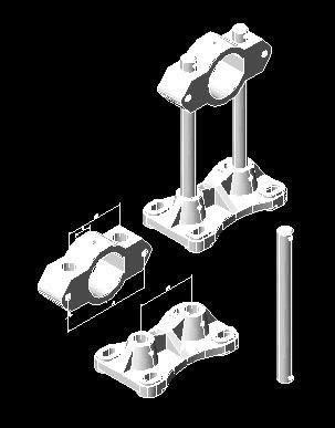 Planos de Soporte, en Válvulas tubos y piezas – Máquinas instalaciones