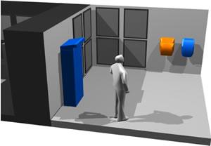 Stand 3d, en Centros culturales salas de exposición museos y stands – Proyectos