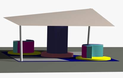 Planos de Stand 3d, en Proyectos varios – Proyectos