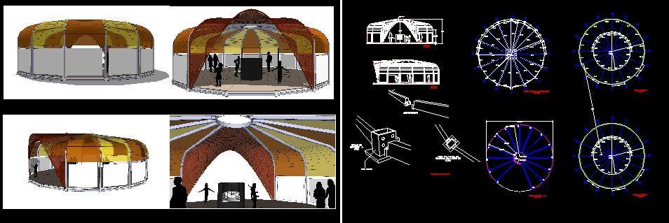 Planos de Stand para niños, en Centros culturales salas de exposición museos y stands – Proyectos